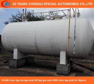 50, 000 Liters LPG Storage Tank for Nigeria pictures & photos