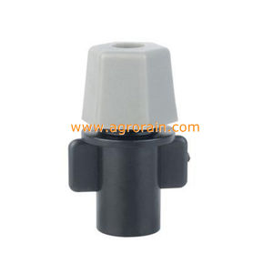 POM One Outlet Fogger Fine Atomizer for Garden Greenhouse Grey