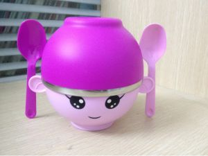 Stainless Steel Kids Bowl and Children Dinnerware pictures & photos