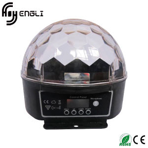 6PCS*3W Stage LED Crystal Ball with CE & RoHS (HL-056)