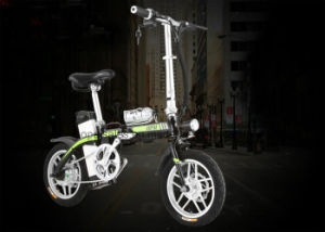 E-Bike Foldable 48V10ah Lithium Battery Electric Folding Bicycle 14′′ Wheel pictures & photos