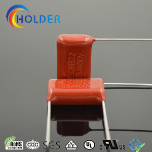 Metallized Polypropylene Capacitor (105j/400V) with Red Color for Appliances pictures & photos