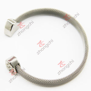 Mesh Stainless Steel Cuff Bangle (CB01)