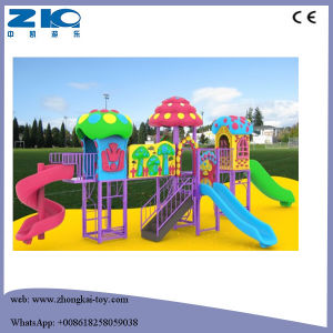 Mushroom Children Playground with Plastic Big Slide for Sale pictures & photos