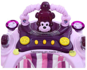 Multifunction Baby Walker with Music, Rocking and Sunshade