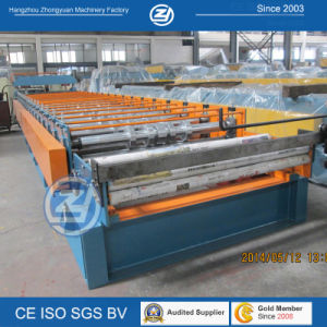 China Galvanized Metal Roof Roll Forming Machine pictures & photos