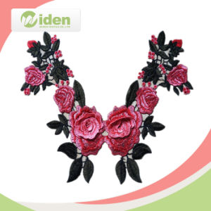 Welcome OEM Fashion Design Embroidered Lace Collar pictures & photos