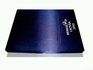 Printed Paper Gift Box with Special Finishing pictures & photos