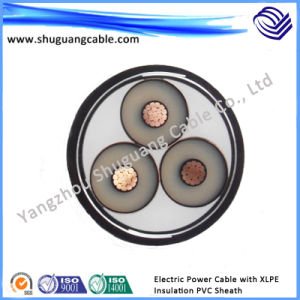 Mv XLPE Insulated PVC Sheathed Steel Tape Armored Flame Retardant Electric Power Cable pictures & photos