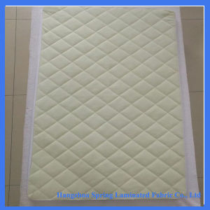 Soft Quilted Bamboo Waterproof Cot Crib Mattress Protector for Baby pictures & photos