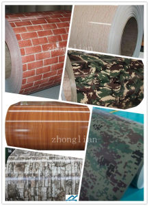 Brick/Marble/Wood/Camouflage Pattern Prepainted Steel Coils (ZL-PPGI) pictures & photos