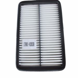 High Quality Auto Air Cleaner Filter Materials for Toyota 17801-02030
