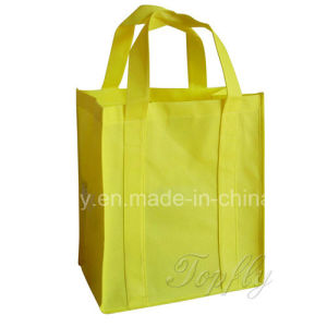 Customized Fashion Foldable Non Woven Tote Hand Bags for Advertising pictures & photos