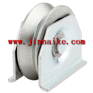 Sliding Gate Wheel with Double Plates (Single Bearing, Y groove) pictures & photos