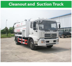 Big Cleanout and Suction Truck 4X2