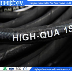 Industry Rubber High Pressure Hydraulic Hose 1sn / R1at