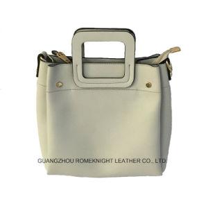 f6ccd51445c 2018 Lady Fashionable PU Leather Tote Women Designer Handbags Simple Fashion  Bags PU Leather Lady Tote