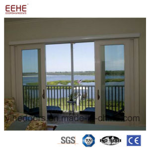 China Excellent Sliding Aluminum Frame Glass Door Used For Balcony
