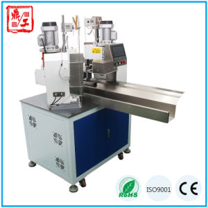 Full Automatic Pneumatic Double Ends Wire Terminal Crimping Machine pictures & photos