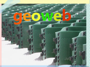 Textured Perforated Plastic HDPE Geocell