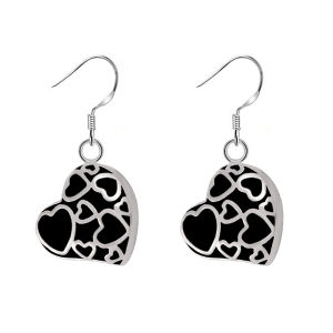 316l Stainless Steel Human Pet Cremation Ash Urn Earrings