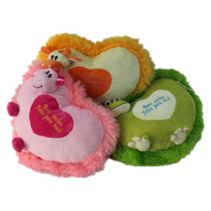 Stuffed Heart Cushion for Valentine′s Day Gifts