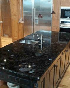 China Black Granite Countertop Volga Blue Granite Kitchen Countertop China Countertop Vanity Top