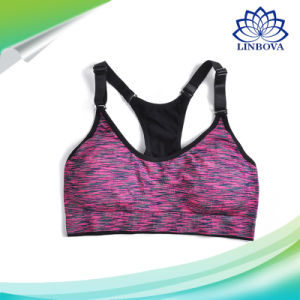 Women Fitness Yoga Padded Push up Breathable Gym Bra