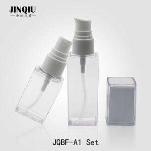 2018 New Product 30-50ml PETG Transparent Refillable Plastic Cuboid Empty  Bottle