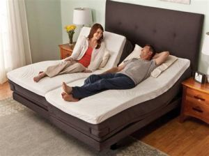 China Bedroom Furniture Foldable King Size Bed Adjustable Power