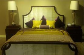Contemporary Solid Wood Bed Era