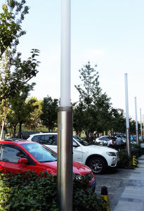 Footpath Lighting LED CMH Light Pole pictures & photos