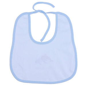 Customized Waterproof White Cotton Baby Bibs Manufacturer pictures & photos