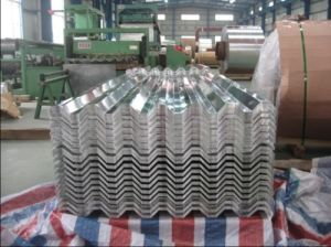Thickness 0.15-0.5mm China Corrugated Steel Sheet pictures & photos
