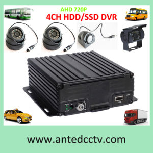 4CH CCTV Vehicle Car DVR Kits with Mobile DVR and Camera pictures & photos