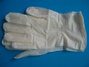 Vinyl Synthetic Gloves (copy latex gloves) pictures & photos