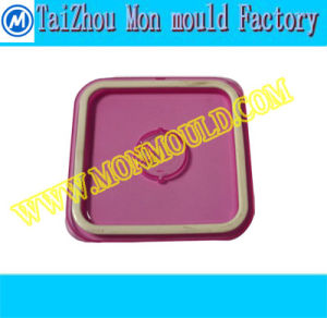Two-Shot Injection Food Container Cover Mould, Two Color Cap Mould, Two Color Mould