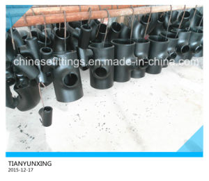 Dn15-Dn600 B16.9 Seamless Tee Carbon Steel Pipe Fittings pictures & photos