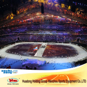 6mm*1.22m*30m Opening Ceremony Indoor Synthetic Rubber Flooring for Sports Court pictures & photos
