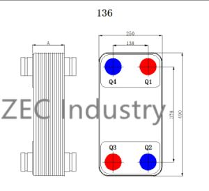 Copper Brazed Plate Heat Exchanger with UL, Ce pictures & photos