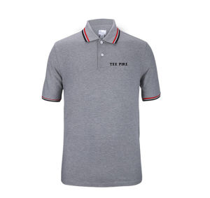 New Design Custom Men Cotton Solid Color Pique Polo Shirts pictures & photos