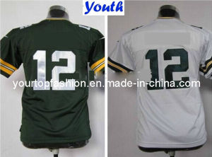 e734d0580 Youth Green Bay American Football Jerseys Kids  12 Aaron Rodgers Jersey  Home Green Road White