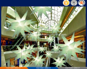 2015 Hot Selling LED Lighting Event, Club Ceiling Decoration Inflatable Star 027