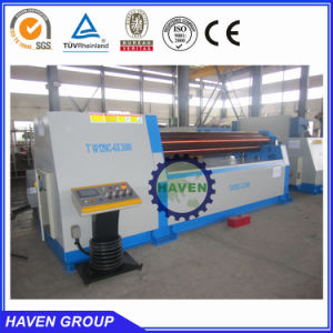 universal carbon steel plate rolling bending machine W12S-8X4000 pictures & photos