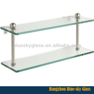 8mm 10mm 12mm Clear or Frosted Shelf Glass