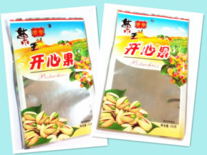 Plastic 3 Sides Seal Pistachio Nuts Food Packaging Pouch pictures & photos