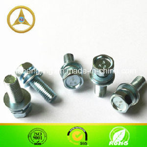DIN6901 Hex Flange Bolts with Washers M8X25