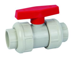 PPH Screw Ball Valve/PPH Socket Ball Valve (Q61F-6S) pictures & photos
