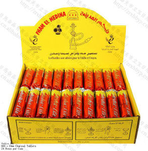 High Quality Quick Light 33mm Round Fham EL Medina Charcoal for Hookah Shisha pictures & photos