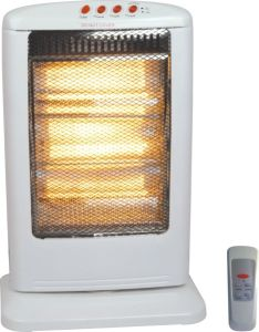 Electric Halogen Heater with Remote Control (NSB-120D)